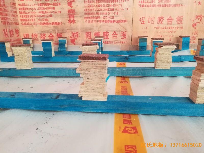 武汉华师南湖附小运动地板安装案例