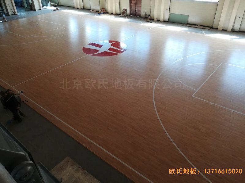陕西榆林神木何家塔煤矿运动地板施工案例